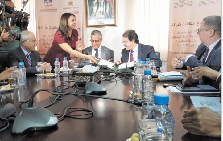 Renouvellement de l'accord de coopération entre le ministère chargé des MRE et l'ANCFCC