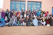 """Opération """"un vélo pour elle 2"""" : Campus éducatif au profit des bénéficiaires à Sidi Ifni"""