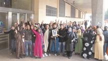 300 ouvriers protestent contre la CNSS à Casablanca