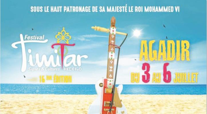 Festival Timitar 16 ans de partage et d'ouverture sur les cultures du monde