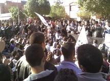 Infrastructures défaillantes au lycée Aboul Kacim  : Les élèves manifestent devant la délégation du MEN à Khénifra