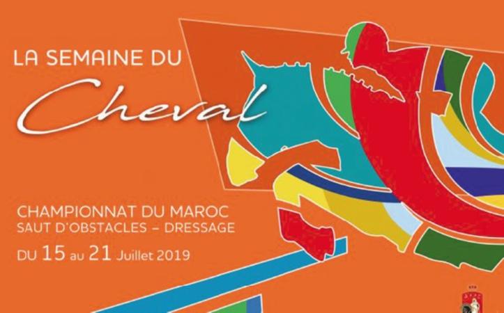 Rabat à l'heure de la Semaine du cheval
