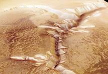Le sous-sol de Mars susceptible d'abriter la vie
