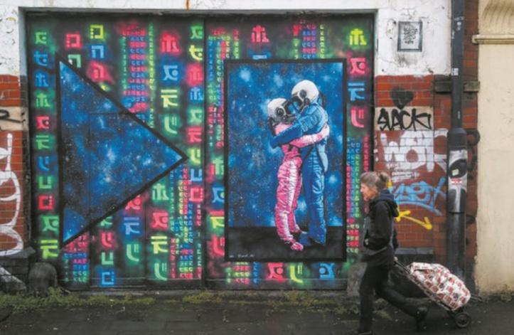 Bristol, tatouée Banksy