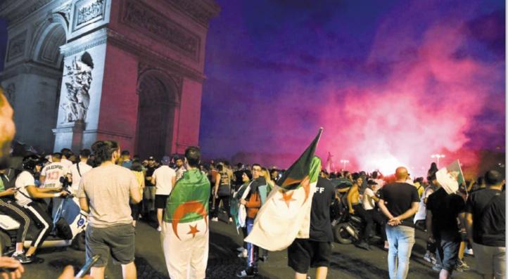 Débordements déplorables lors de la liesse des Algériens de France