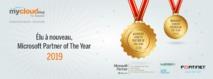 """Mycloud.ma par Casanet désigné """"Country Partner of the Year"""""""
