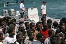 Un émigrant clandestin décède par noyade : 25 Subsahariens tentent de forcer le passage vers Sebta