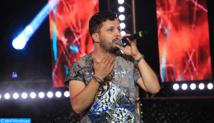 Show haut en couleur de Hamid Bouchnak  et Hatim Ammor au Festival international du raï