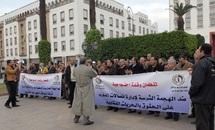 FDT et CDT en sit-in devant le Parlement : Faire valoir les droits et libertés au sein d'Itissalat Al Maghrib