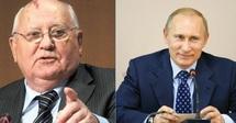Devant la contestation des Russes : Gorbatchev conseille à Poutine de partir