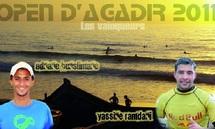 Open de surf d'Agadir : Les accros de la vague à l'honneur sur la plage d'Imouren