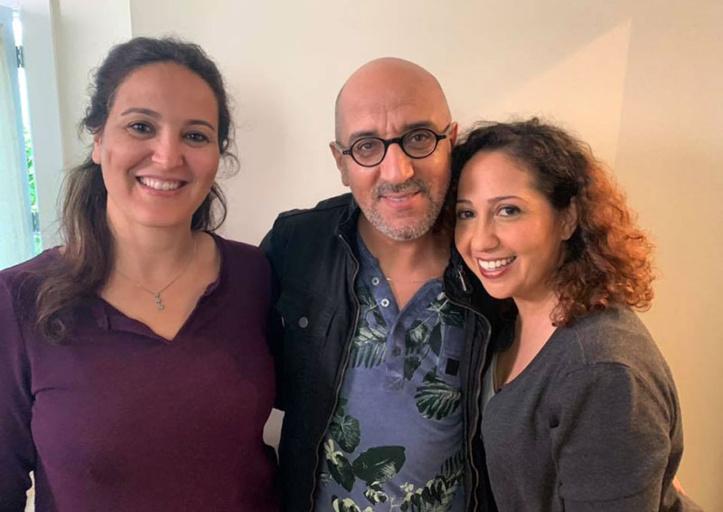 """Tournage à Imsouane du film canadien """"Les vieux chums"""" avec Hassan El Fad et Houda Rihani"""