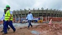 Brésil: des détenus construisent les stades du Mondial... et leur avenir