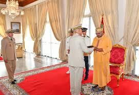 Le Souverain reçoit les vœux de la famille des Forces Armées Royales