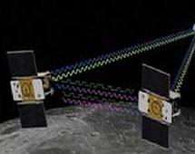La seconde des deux sondes américaines GRAIL en orbite lunaire