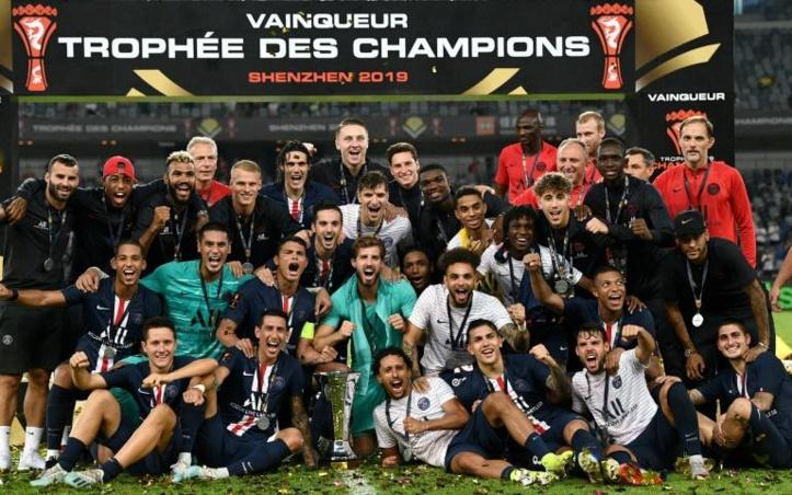 Trophée des champions  Décollage réussi pour le PSG