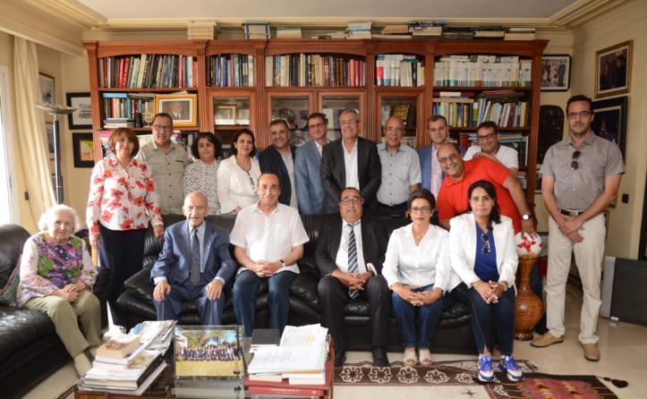 Le Bureau politique rend visite à Abderrahmane El Youssoufi