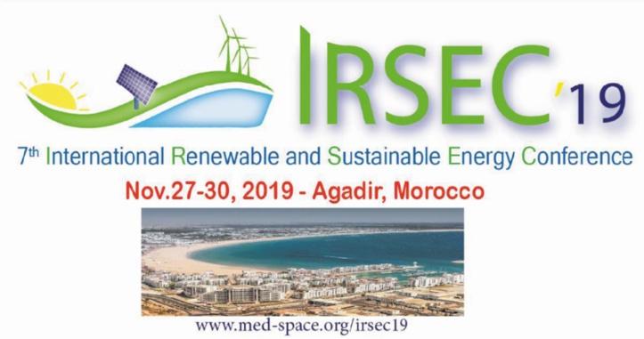 7ème conférence internationale sur les énergies renouvelables et durables à Agadir