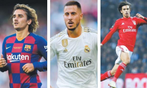 Griezmann, Hazard et Felix Riches recrues et mercato record