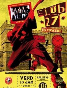 Le groupe Club 27 en concert ce vendredi à la Salle 36-Boultek de Technopark : Du rock en darija à Casablanca