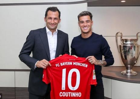 Coutinho prêté au Bayern