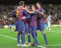 Liga: le Barça n'a plus le droit à l'erreur