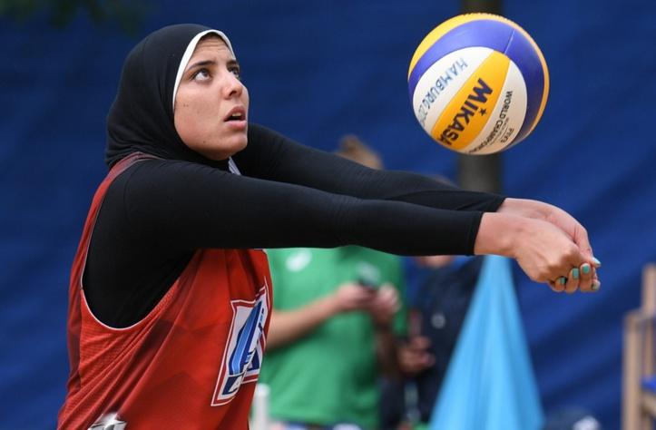 Consécration du beach-volley égyptien