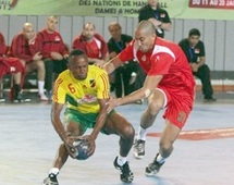 Championnat d'Afrique de handball : Le Sept national en quart de finale