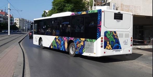 Mise en service à Rabat des nouveaux autobus