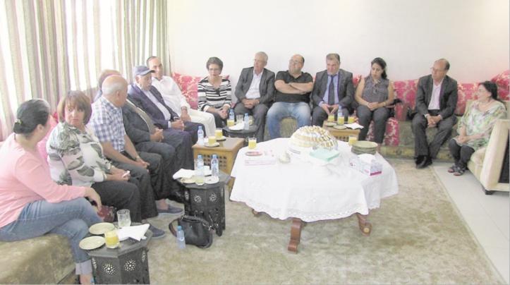 Une délégation ittihadie chez Noubir El Amaoui