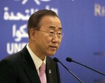 Conflit israélo-arabe : Ban Ki-moon veut instaurer une paix durable