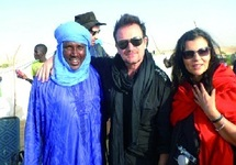 A Tombouctou, un festival avec la star Bono fait oublier Al-Qaïda