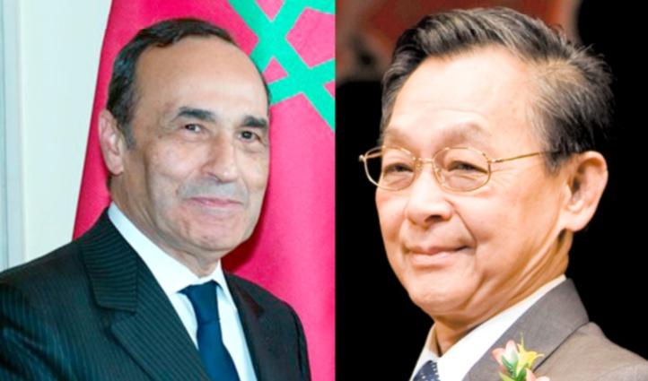 Habib El Malki et Chuan Leepkai.