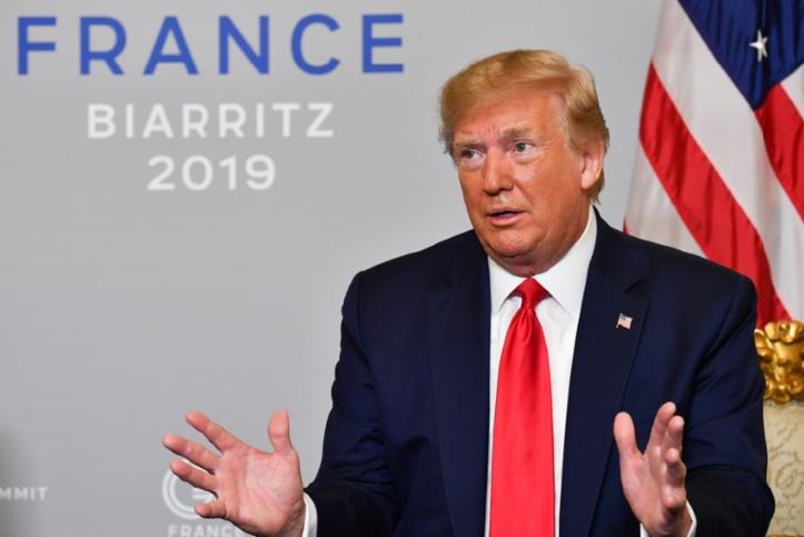 Donald Trump change de ton sur l'Iran au G7