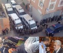 Violents affrontements devant le siège du PJD à Laâyoune