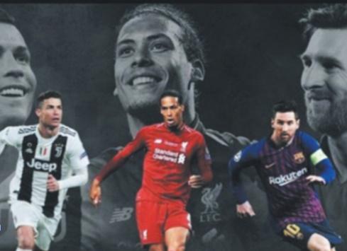 Meilleur joueur UEFA : Van Dijk trop fort pour Messi et Ronaldo