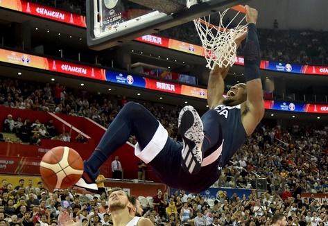 Les Américains commencent par une victoire au Mondial de basket