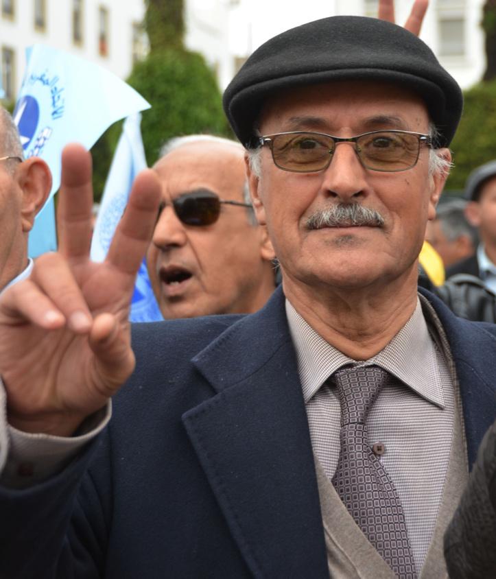 Décès du leader syndicaliste et militant ittihadi Abderrahmane El Azzouzi