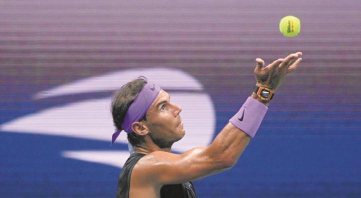 Nadal rejoint les demies de l'US Open malgré les crampes