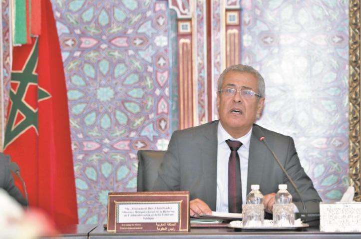 Mohamed Benabdelkader : Instaurer les bases d'une fonction publique professionnelle, efficace et motivante