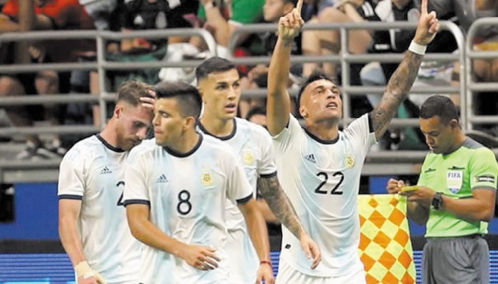 L'Argentine sans ses stars étrille le Mexique