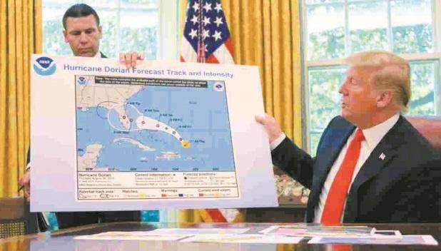 L'étrange tempête déclenchée par Trump au service météo américain