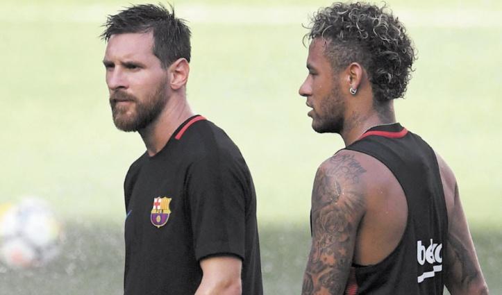 """Messi aurait été """"enchanté que Neymar revienne"""""""