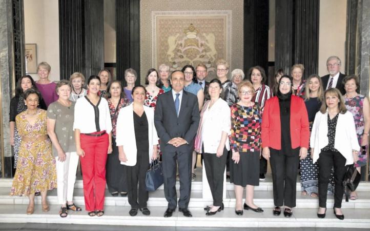 Habib El Malki reçoit une délégation de diplomates accréditées en Australie