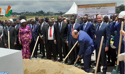 Les travaux d'aménagement du Carrefour de l'Indénié confiés au Marocain SGTM