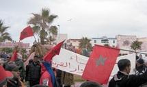 Les habitants de douar Laareb battent le pavé : La marche des chameaux