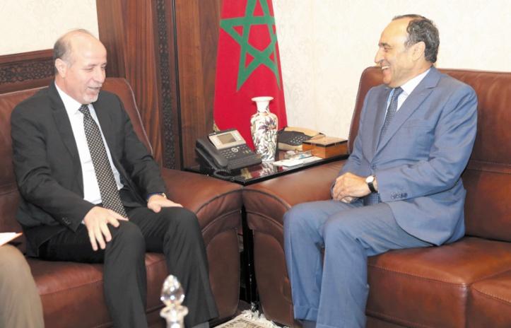 Habib El Malki s'entretient avec le directeur du FNUAP pour la région arabe