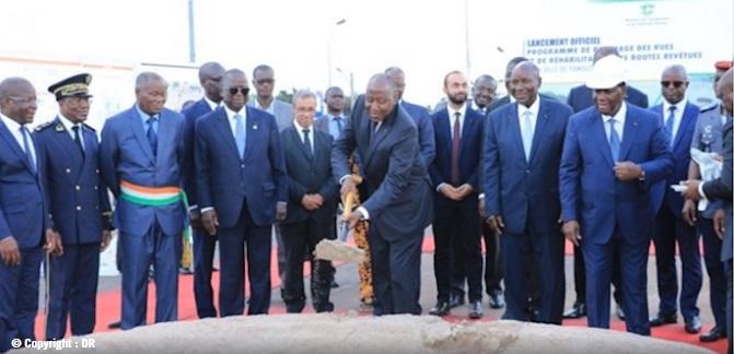 Prêt de la BCP pour la réhabilitation des infrastructures routières en Côte d'Ivoire