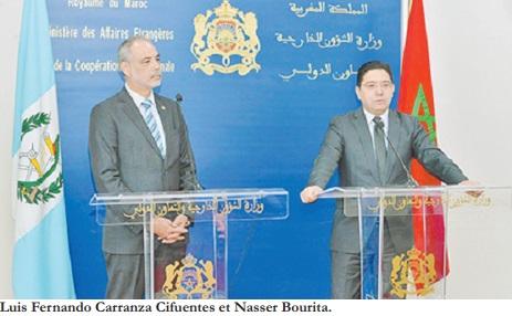 Le Guatemala pour une solution au Sahara qui respecte l'intégrité territoriale du Maroc