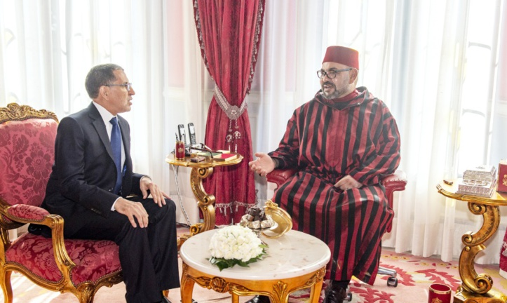 S.M le Roi reçoit Saad Eddine El Otmani